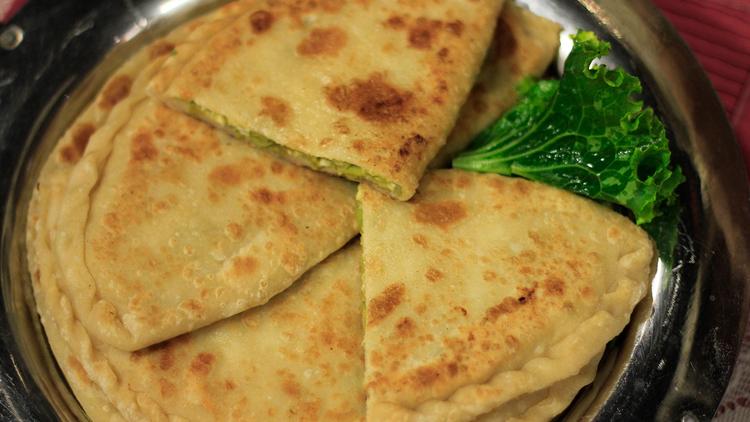 Matar Cheese Paratha