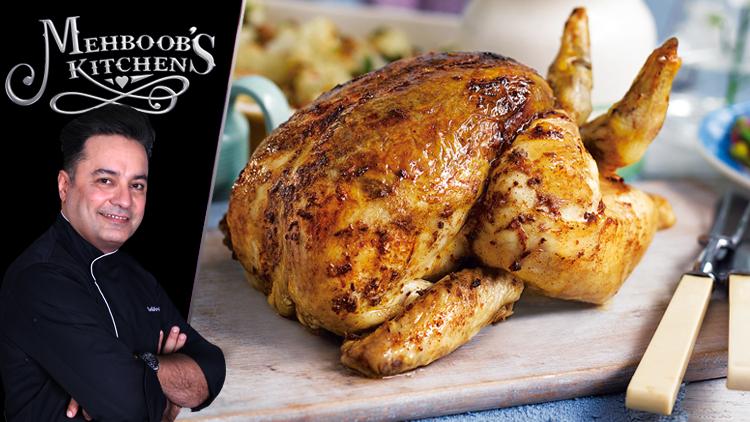 Roast Chicken Recipe By Chef Mehboob Khan Masala Tv