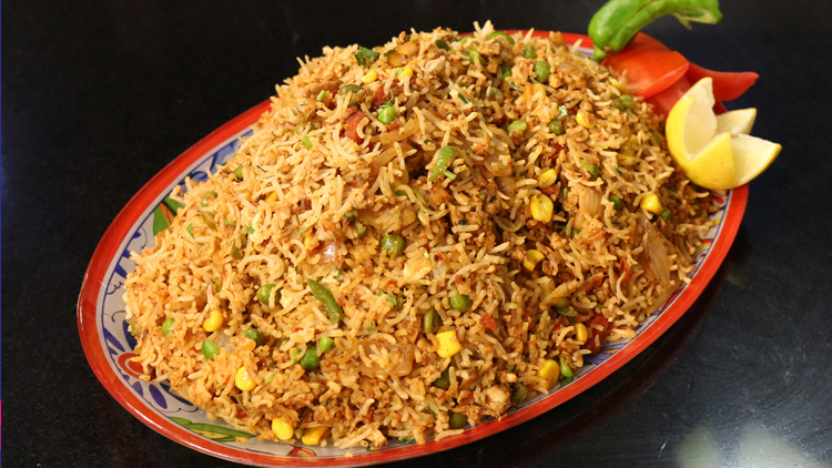 Chicken Vegetable Pulao