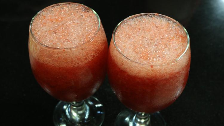 Iced Strawberry Mocktail