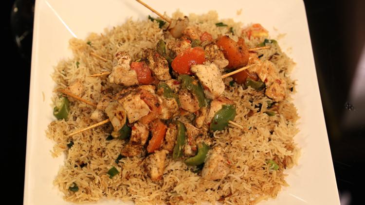 Tikka Stick with Rice