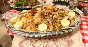 Fried Chicken Dum Biryani