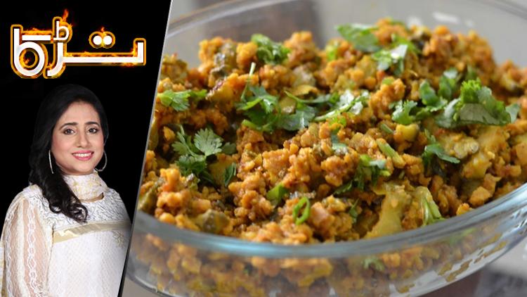 Masala tv pakistans no1 food channel qeema karelay recipe by chef rida aftab 23 july 2018 forumfinder Image collections