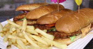 Crunch Chicken Burger
