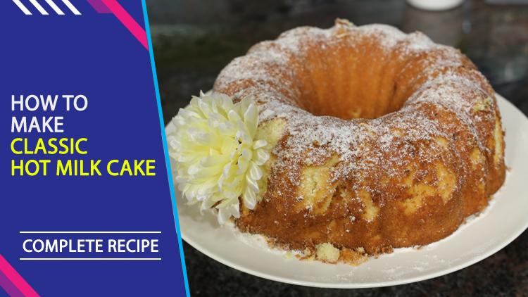 Cake Icing Recipe By Zarnak: Classic Hot Milk Cake