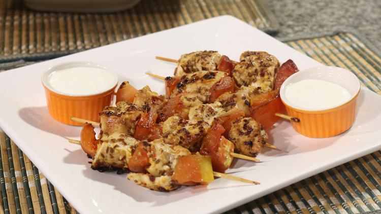 Chicken and Tomato Boti