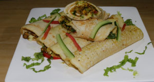 Cheese Dosa Roll