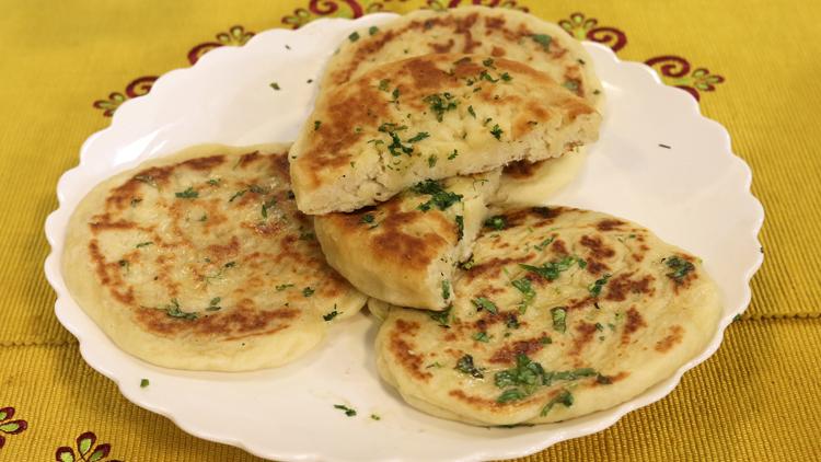Butter Tawa Naan