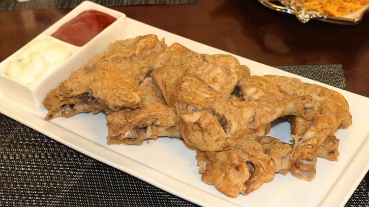 Chaat Masala Steam Chicken