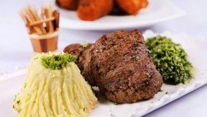Beef Steak with Chimichurri and Mashed Potato Recipe