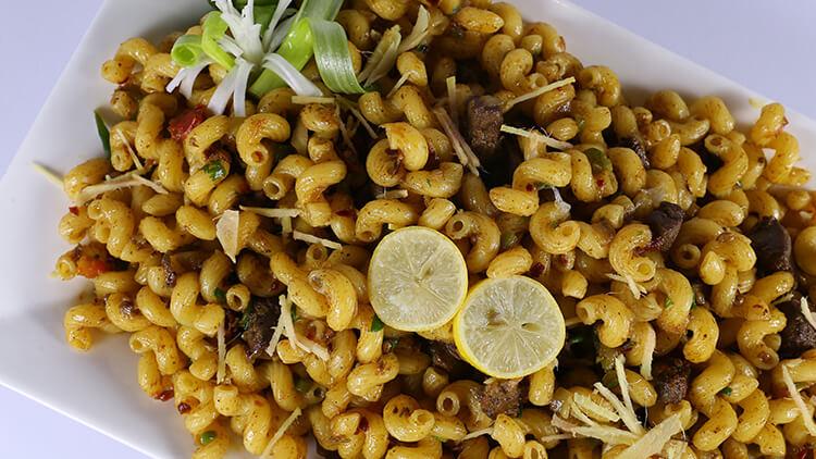 Macaroni Liver Masala | Dawat | Chef Abida Baloch