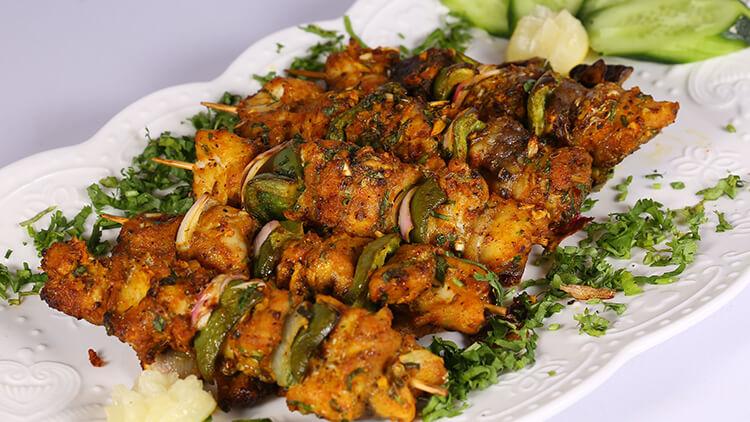 Moroccan Grilled Fish Brochettes | Dawat | Chef Abida Baloch