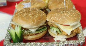 Southern-fried-chicken-burger-Evening With Shireen Masala Tv
