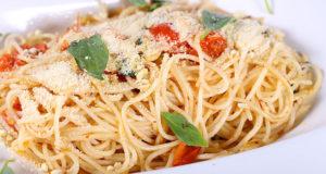 Spaghetti Garlic Oil Food Diaries Masala TV