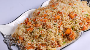 Tikka Stir Fried Rice | Food Diaries | Chef Zarnak Sidhwa