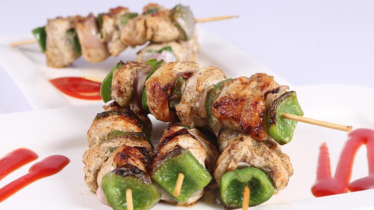 Barbecue Chicken Swirls   Lazzat   Chef Samina Jalil