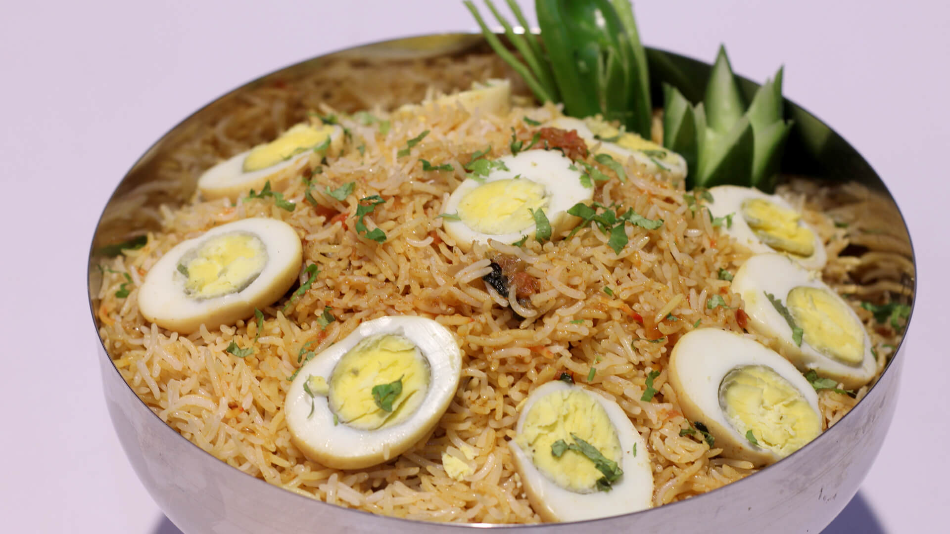 Egg Biryani | Evening With Shireen | Shireen Anwar | Desi food