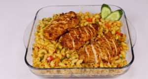 Peri Chicken Pasta | Lazzat | Chef Samina Jalil
