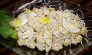Spicy Cream Potato Salad | Quick Recipe