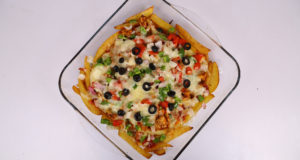 Tikka Pizza Fries Casserole | Lazzat | Masala TV | Samina Jalil