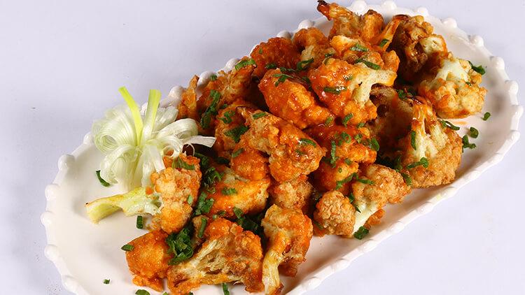 Buffalo Cauliflower Nuggets | Dawat | Chef Abida Baloch