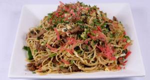 Honey Beef Noodles | Tarka
