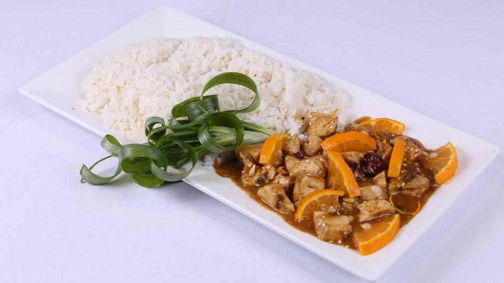 Szechuan Orange Chicken   Dawat   Abida Baloch   Chinese Food