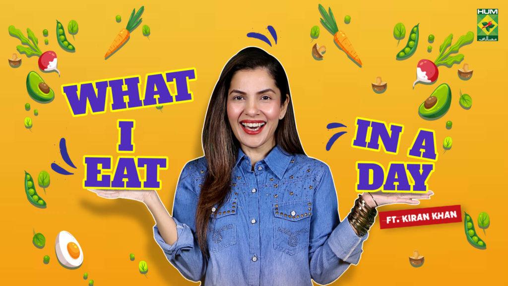 What I eat in a day | Kiran Khan