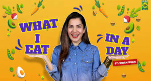 What I eat in a day | Kiran Khan