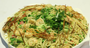 Curried Shrimp Spaghetti Recipe | Tarka