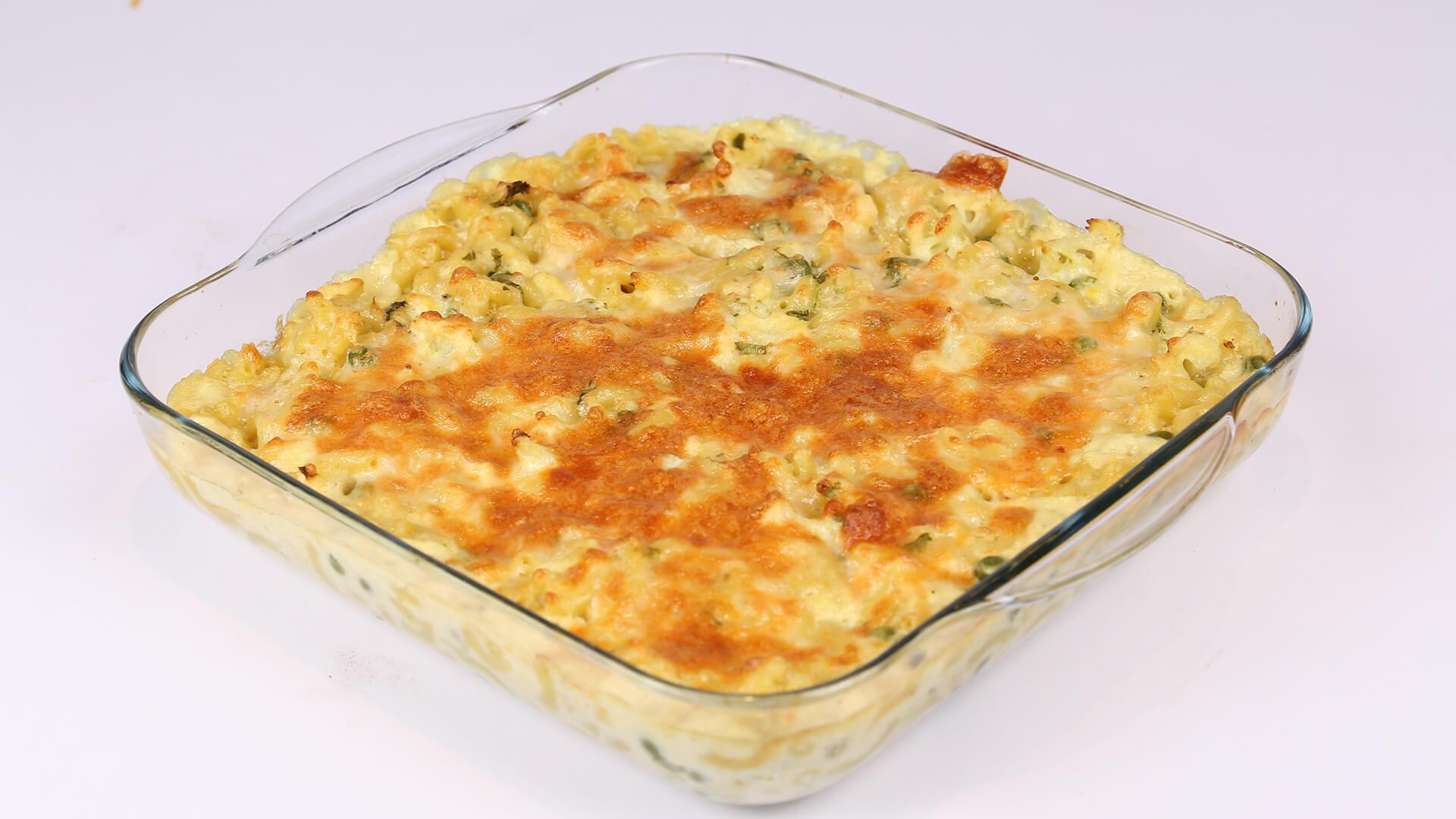 Cauliflower Mac & Cheese | Dawat