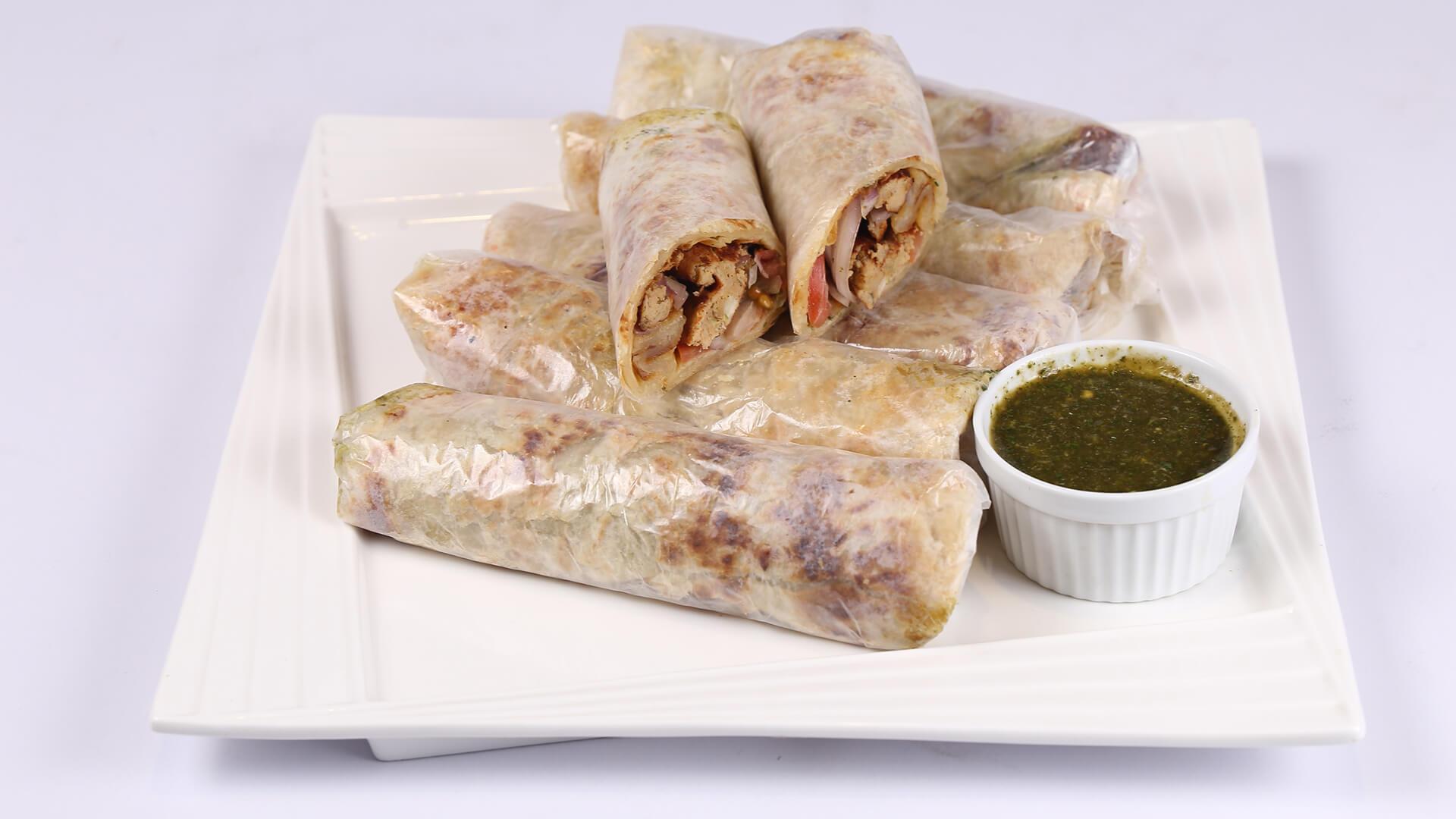 Chapli Paratha Roll | Mehboob's Kitchen