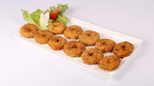 Chicken and Potato Doughnuts | Evening With Shireen