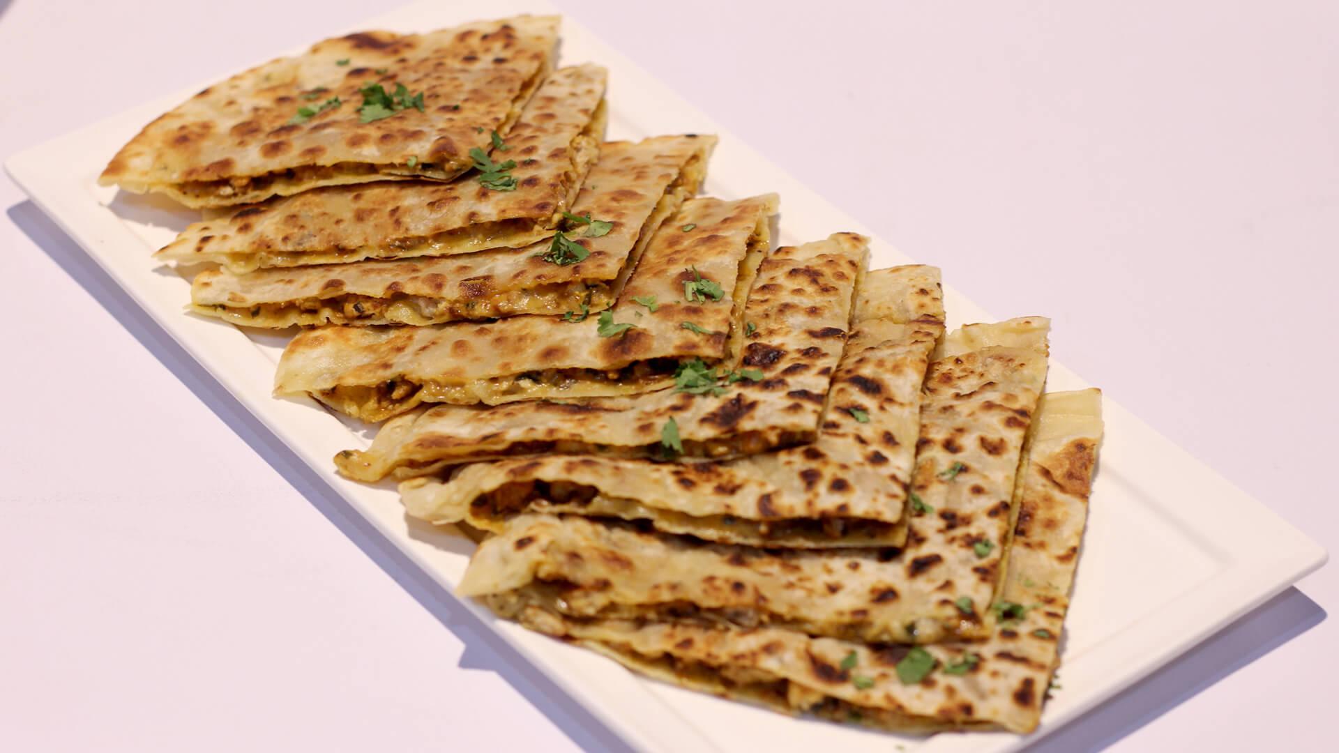 Chicken Cheese Stuffed Paratha | Mehboob's Kitchen