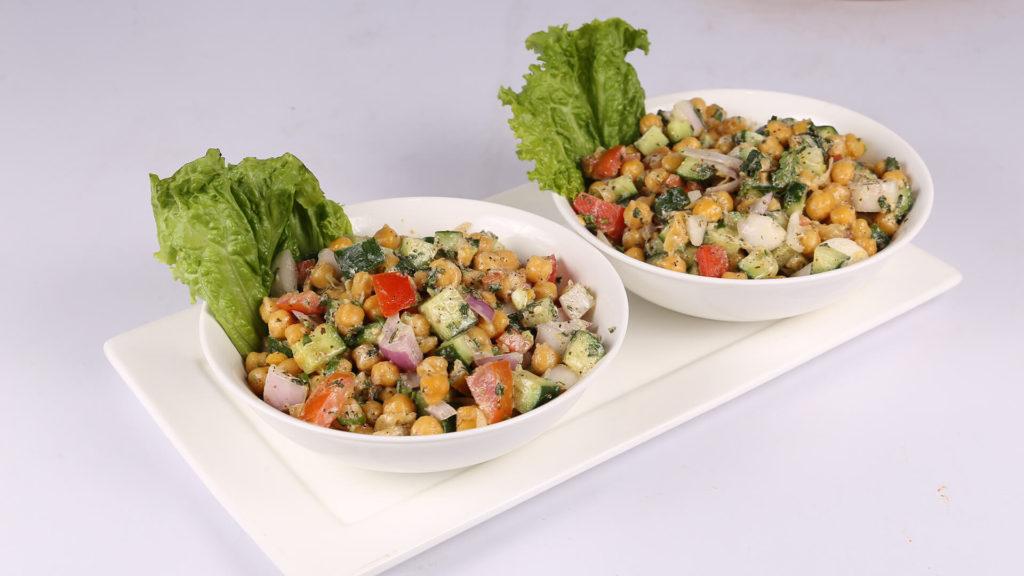 Minty Chickpea Salad | Quick Recipe