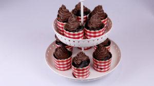 Chocolate Fountain Cupcakes