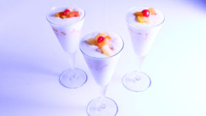 Coconut Fruit Compote | Mehboob's Kitchen