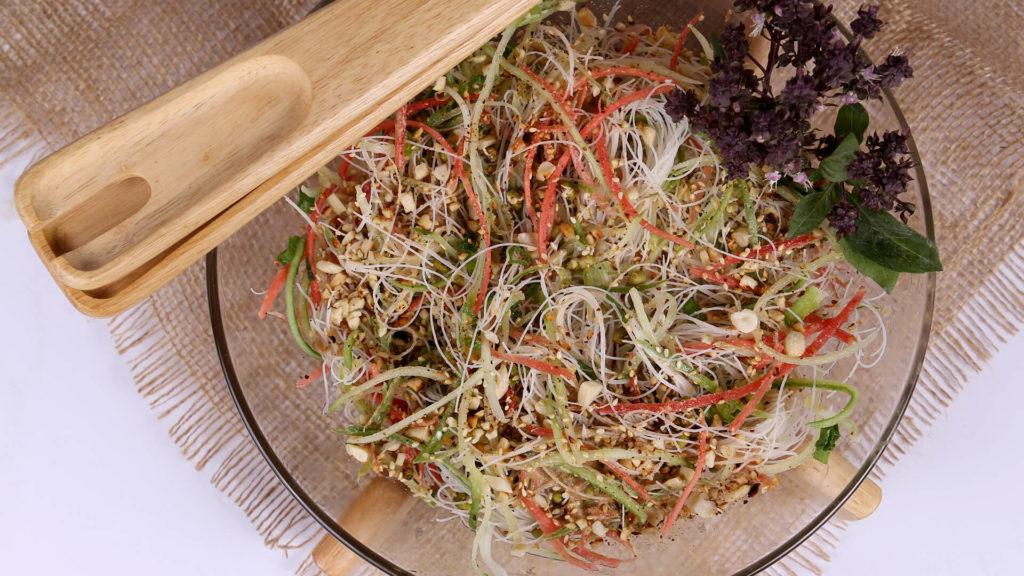 Cold Sesame Noodles Salad | Quick Recipe