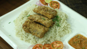 Fried Fish Mandi Recipe | Flame On Hai