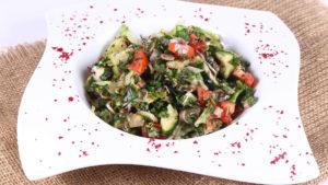 Fattoush Salad   Lazzat   Samina Jalil