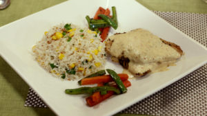 Grilled Chicken with Garlic Corn Rice Recipe | Lively Weekends