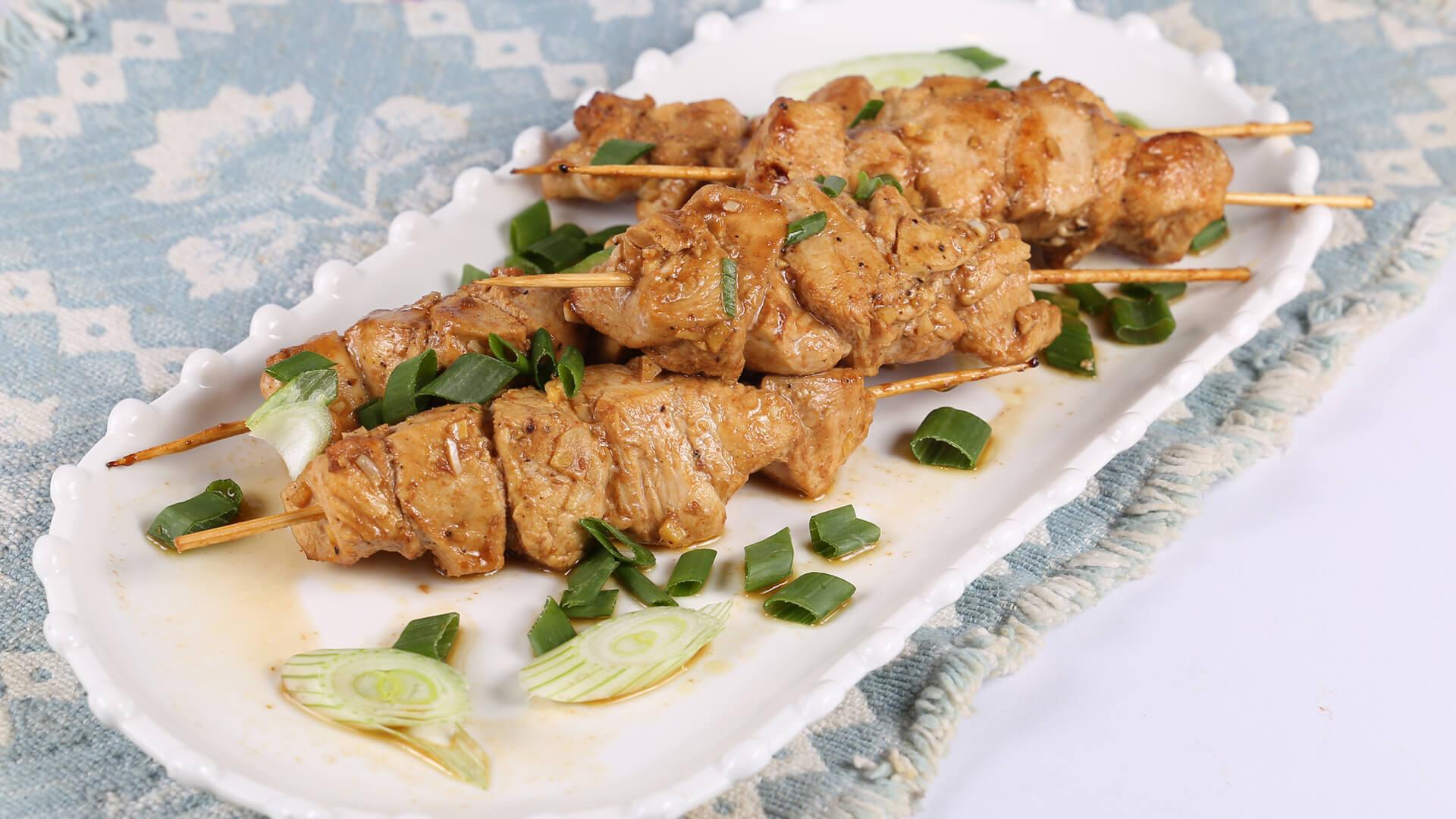 Japanese Chicken Skewers Recipe   Food Diaries