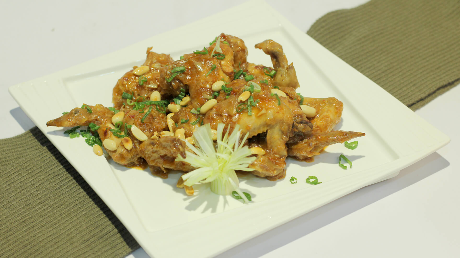 Kung Pao Chicken Wings Recipe   Lazzat
