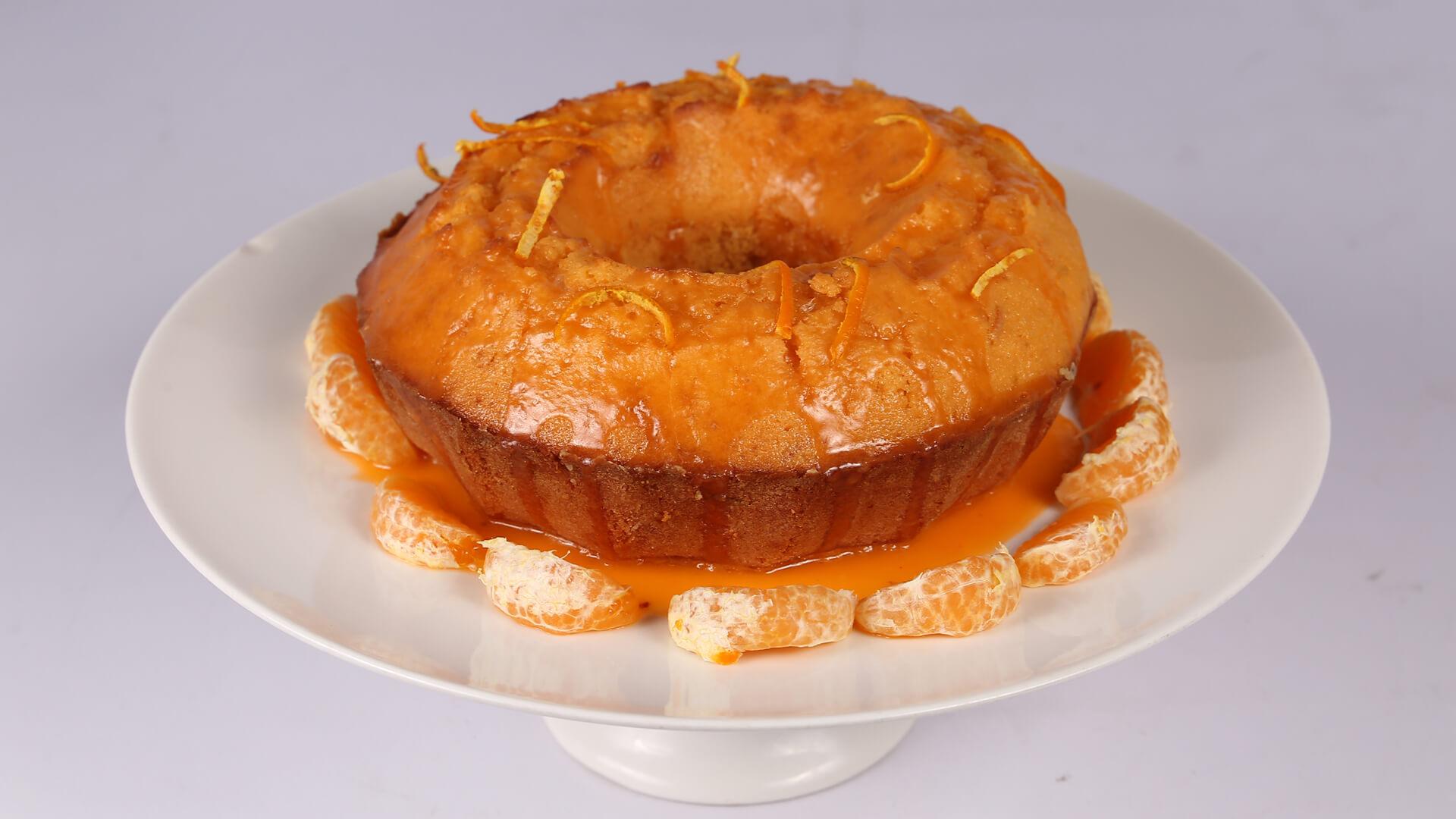 Lemon Orange Cake | Dawat