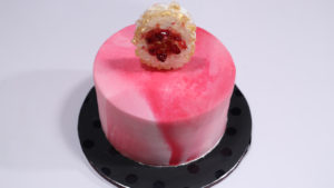 Marbled Fondant Cake with Sugar Geode   Bake At Home