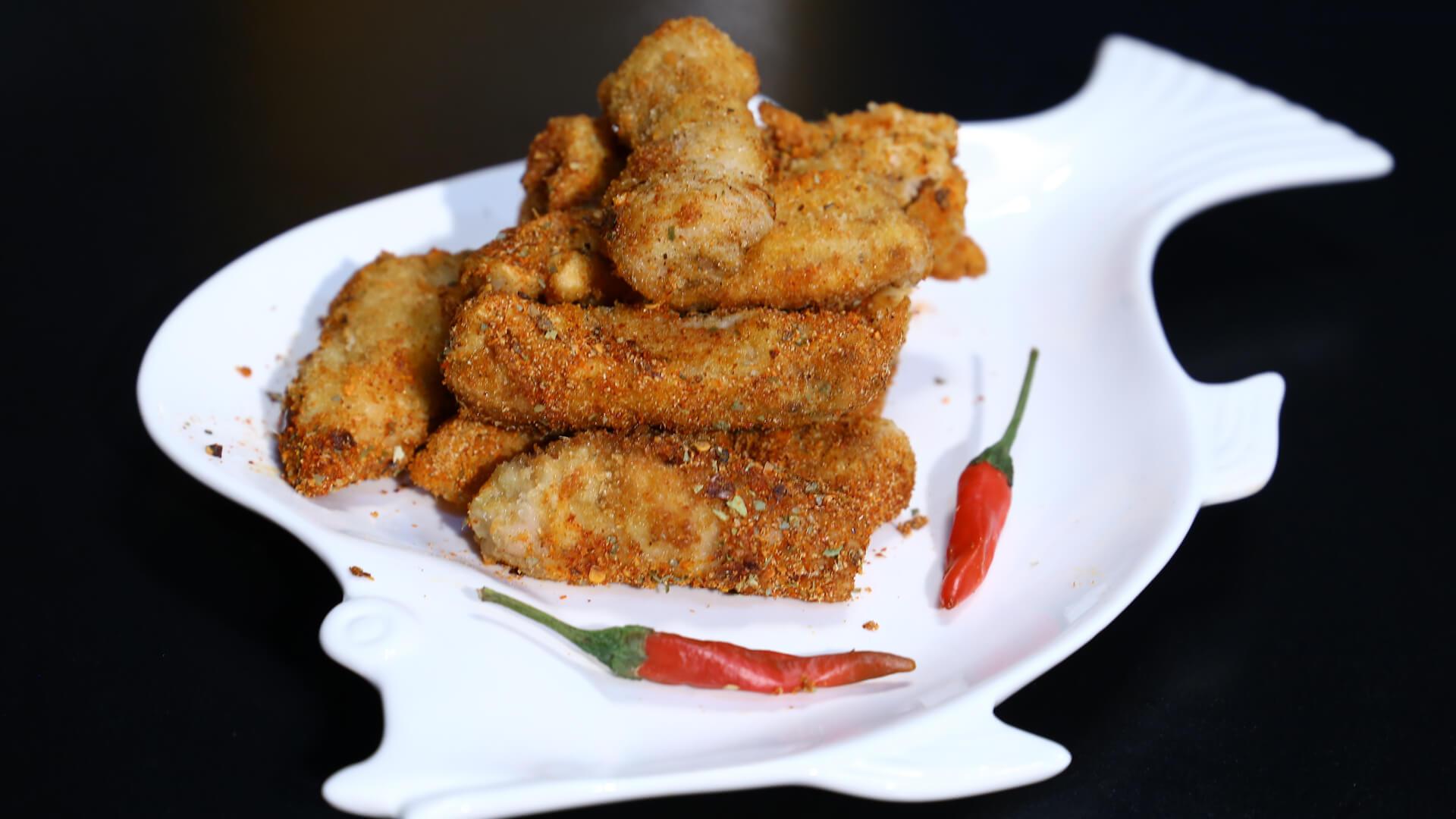 Peri Peri Fish Fingers Recipe | Food Diaries