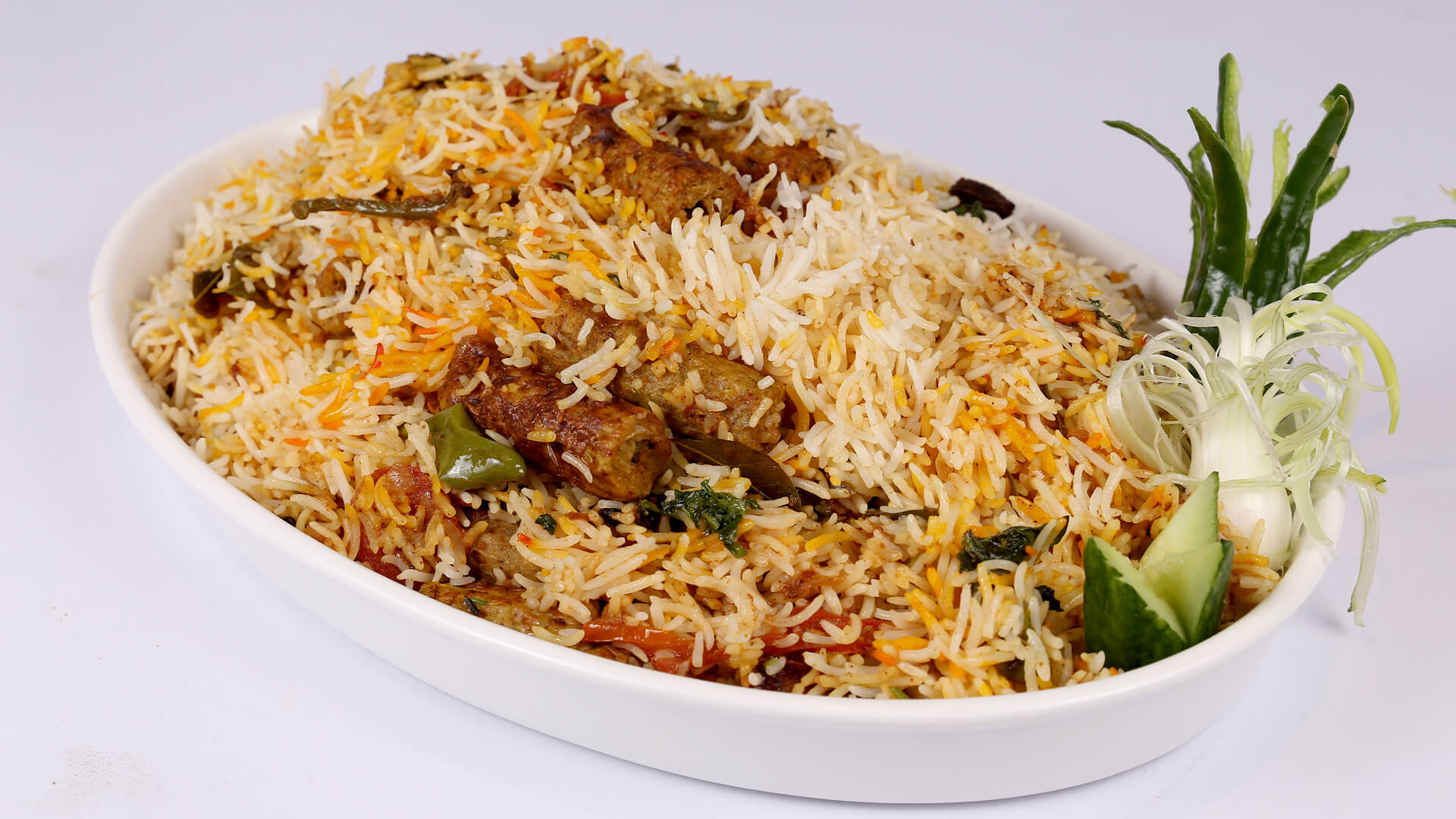 Smoked Seekh Kabab Biryani | Evening With Shireen