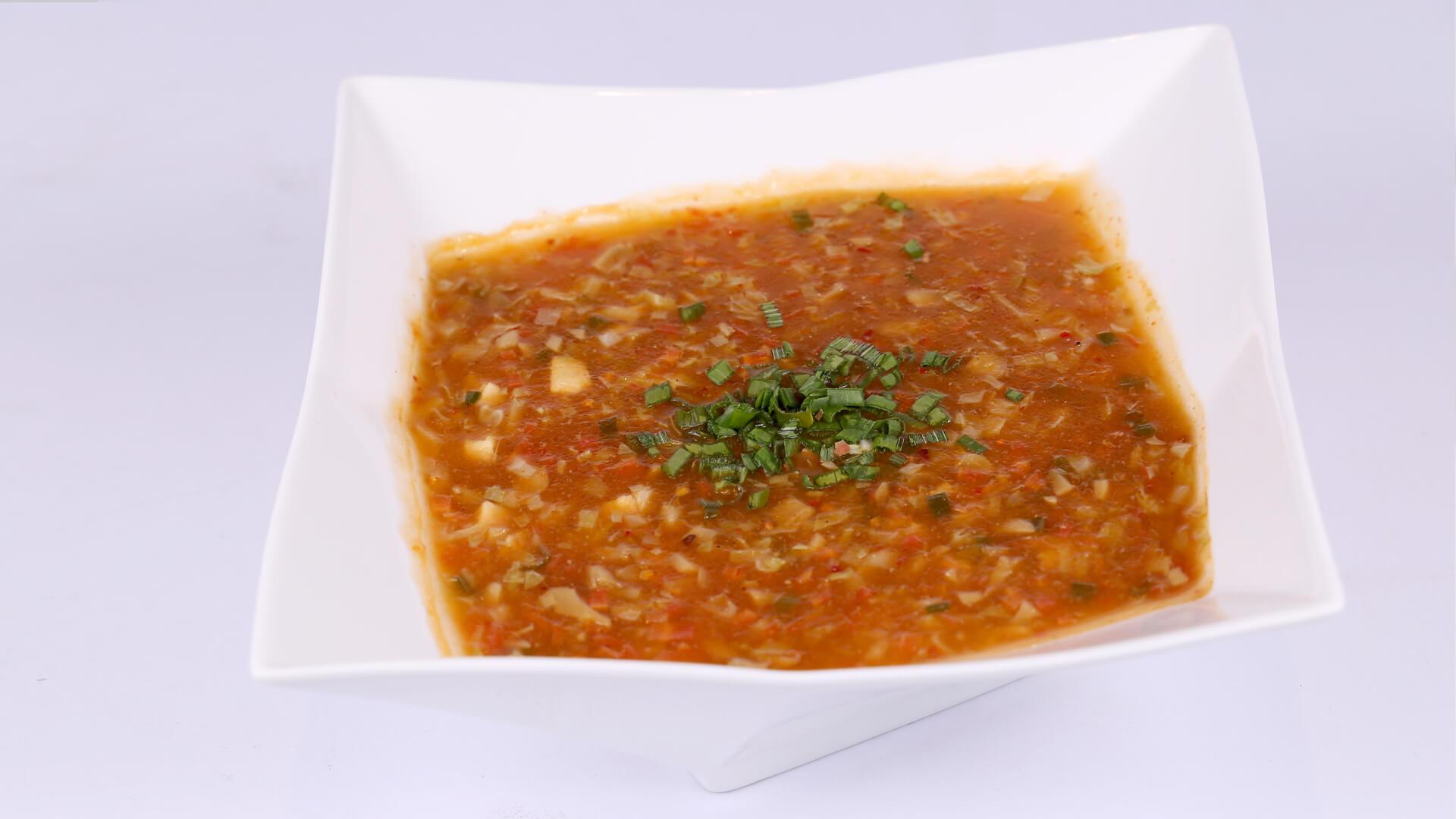 Szechuan Soup | Flame On Hai