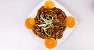 Spicy Orange Beef | Dawat