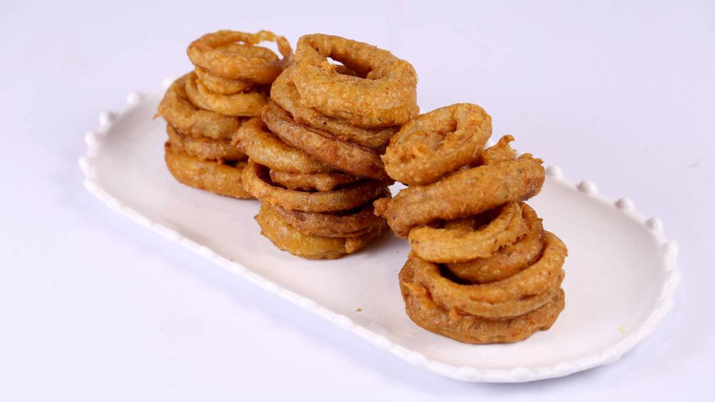 Spicy Onion Rings | Food Diaries